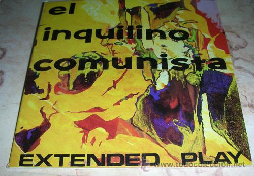 Discos de vinilo: EL INQUILINO COMUNISTA - EXTENDED PLAY - DOBLE SINGLE - Foto 1 - 47875744