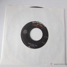 Discos de vinilo: RICKY NELSON - POOR LITTLE FOOL 1958 USA SINGLE * FUNDA DE PLASTICO TRANSPARENTE. Lote 47876297