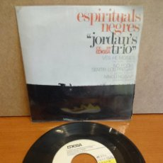 Discos de vinilo: JORDAN'S TRIO. ESPIRITUALS NEGRES. EP / EDIGSA - 1966. CALIDAD LUJO. ****/****. Lote 47876630