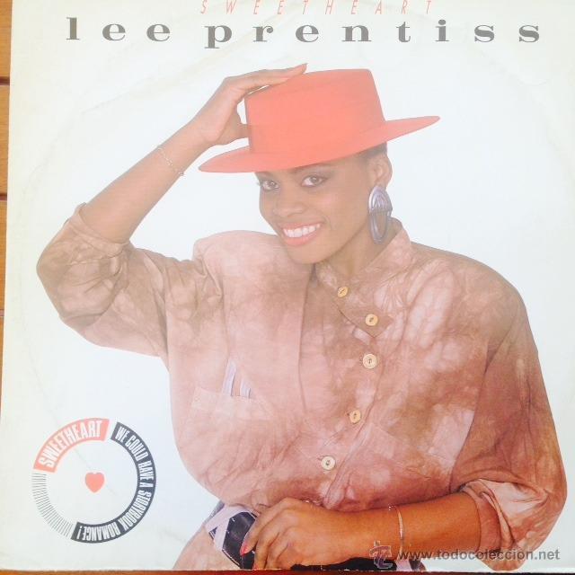 LEE PRENTISS - SWEETHEAR . MAXI SINGLE . 1987 FUNKIN' MARVELLOUS RECORDS - 12 MARV 07 (Música - Discos de Vinilo - Maxi Singles - Funk, Soul y Black Music)