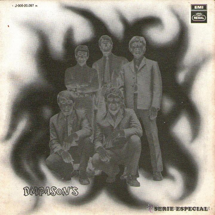 DIAPASON'S - SINGLE VINILO 7'' - DIAPASONS - EDITADO EN ESPAÑA - JUERGA + GITANA - REGAL 1969 (Música - Discos - Singles Vinilo - Grupos Españoles 50 y 60)