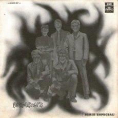 Discos de vinilo: DIAPASON'S - SINGLE VINILO 7'' - DIAPASONS - EDITADO EN ESPAÑA - JUERGA + GITANA - REGAL 1969. Lote 47884040