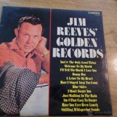 Discos de vinilo: JIM REEVES GOLDEN RECORDS. EDICION INGLESA.. Lote 47885329