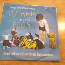 Discos de vinilo: WINNIE THE POOH. SONGS FROM WALT DISNEY´S. AND OTHER CHILDREN´S FAVOURITES. 1963 EDICION INGLESA. Lote 47885779