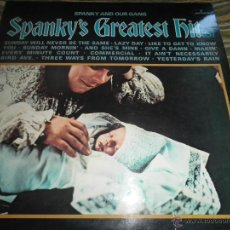 Discos de vinilo: SPANKY AND OUR GANG - SPANKY´S GREATEST HITS LP - ORIGINAL INGLES - MERCURY 1969 - STEREO -. Lote 47891740