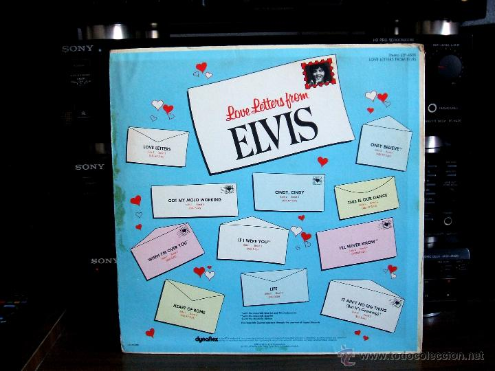 Discos de vinilo: ELVIS PRESLEY - LOVE LETTERS FROM ELVIS - (LSP-4530) RCA VICTOR / USA, 1971 / - Foto 3 - 47836769