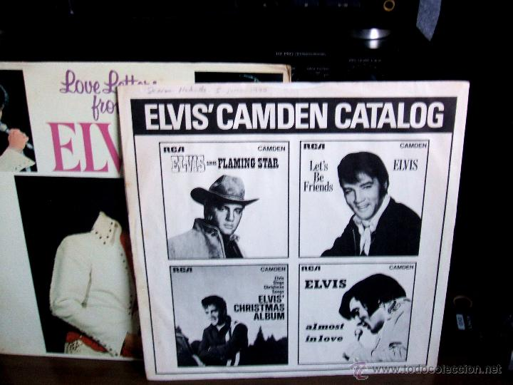 Discos de vinilo: ELVIS PRESLEY - LOVE LETTERS FROM ELVIS - (LSP-4530) RCA VICTOR / USA, 1971 / - Foto 5 - 47836769