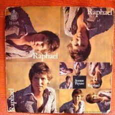 Discos de vinilo: SINGLE VINILO RAPHAEL SOMOS Y PAYASO. Lote 47897808