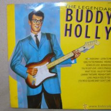 Discos de vinilo: BUDDY HOLLY. THE LEGENDARY BUDDY HOLLY. HALLMARK RECORDS SHM 3221 LP UK 1987. Lote 47916054