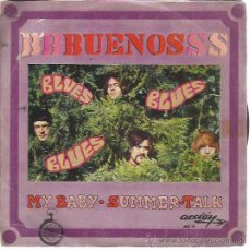 Discos de vinilo: LOS BUENOS SG ACCION 1969 MY BABY / SUMMER TALK MOD FREAKBEAT. Lote 47917198