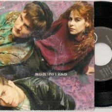 Discos de vinilo - DIAS DE VINO Y ROSAS - ENEMIGOS (SINGLE RCA 1991 SPAIN) PRE-AMARAL - 47918757