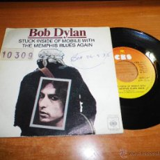 Discos de vinilo: BOB DYLAN STUCK INSIDE OF MOBILE WITH THE MEMPHIS BLUES AGAIN / RITA MAY SINGLE VINILO ESPAÑOL 1977. Lote 47921110