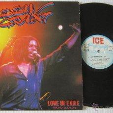 Disques de vinyle: EDDY GRANT - LOVE IN EXILE / AMOR EN EL EXILIO - LP - ICE 1980 SPAIN - N MINT. Lote 47921211