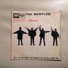 Discos de vinilo: THE BEATLES - EP ESPAÑA 1965 HELP + 3. Lote 47925743