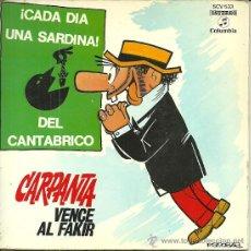 Discos de vinilo: CARPANTA EP SELLO COLUMBIA AÑO 1971PORTADA DOBLE CON 6 PAGINAS DE COMIC.. Lote 47925800