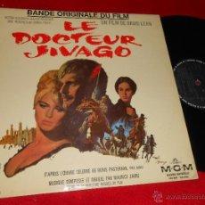 Discos de vinilo: EL DOCTOR ZHIVAGO JIVAGO OST BSO LP 196? MGM EDICION FRANCESA FRENCH. Lote 47929718