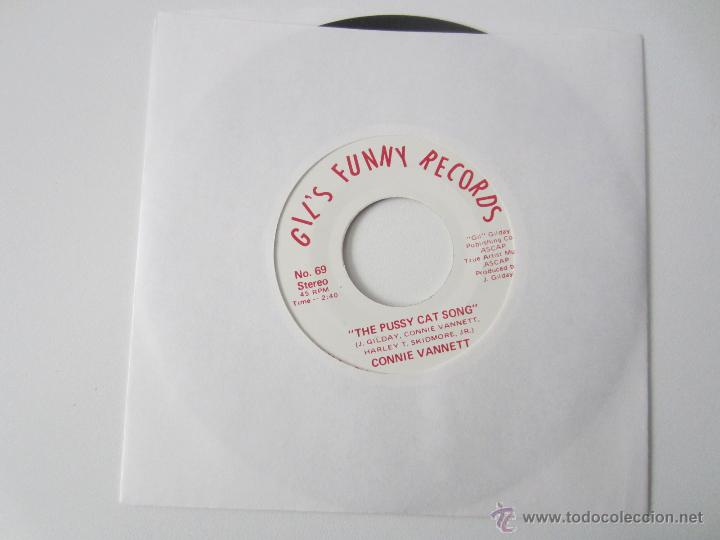 CONNIE VANNETT - THE PUSSY CAT SONG 1976 USA SINGLE * PROMO (Música - Discos - Singles Vinilo - Country y Folk)