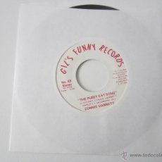 Discos de vinilo: CONNIE VANNETT - THE PUSSY CAT SONG 1976 USA SINGLE * PROMO. Lote 47934658