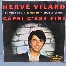 Discos de vinilo: EP. IL MONDO. + 3. HERVE VILARD. Lote 47935986