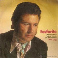 Dischi in vinile: VENDO SINGLE DE FOSFORITO (VER MÁS INFORMACIÓN Y FOTO EN EL INTERIOR).. Lote 47936168