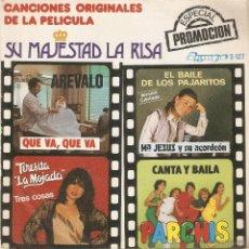 Discos de vinilo: VENDO SINGLE DE LA PELICULA SU MAJESTAD LA RISA. (MÁS INFORMACIÓN Y FOTO EN EL INTERIOR).. Lote 47937954