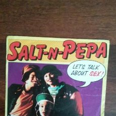 Disques de vinyle: SALT-N-PEPA.LETT'S TALK ABOUT SEX. Lote 47939040