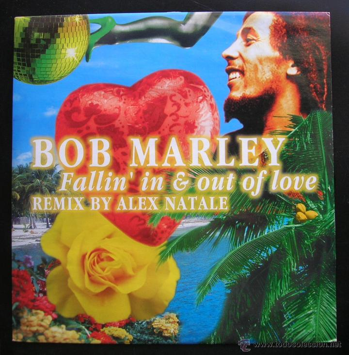 BOB MARLEY.FALLIN´IN & OUT OF LOVE.REMIX BY ALEX NATALE. MAXI SINGLE DANCE FACTORY.MADE IN ITALY (Música - Discos de Vinilo - Maxi Singles - Reggae - Ska)