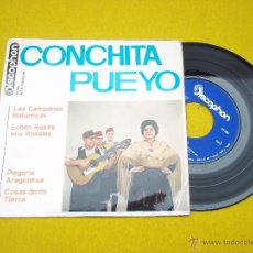 Discos de vinilo: CONCHITA PUEYO LAS CAMPANA BATURRICAS EP (EX/EX+) 1964 JOTA Ç. Lote 47949036