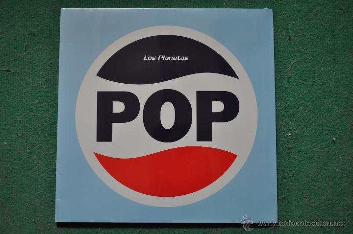LOS PLANETAS - POP (VINILO COLOR 300 COPIAS-PRECINTADO) (Música - Discos - LP Vinilo - Grupos Españoles de los 90 a la actualidad)