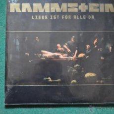 Discos de vinilo: RAMMSTEIN - LIEBE IST FUR ALLE DA 2LP UNIVERSAL (PRECINTADO-NUEVO). Lote 47949455