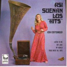Discos de vinilo: ASI SUENAN LOS HITS ¿EN ESTEREO!, EP, HEY JUDE (BEATLES) + 3, AÑO 1969. Lote 47951321