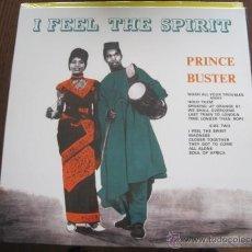 Discos de vinilo: PRINCE BUSTER - I FEEL THE SPIRIT (1963) - LP REEDICIÓN DYNAMITE NUEVO. Lote 53135703
