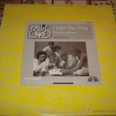 Discos de vinilo: FRUITCAKE - I LIKE THE WAY. Lote 47959197