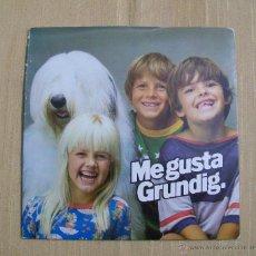 Discos de vinilo: FLEXI DISC ME GUSTA GRUNDIG AÑOS 70. Lote 47960753
