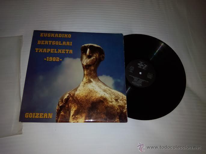 LP 33 RPM / EUSKADIKO BERTSOLARI TXAPELKETA 1982// EDITADO IZ (Música - Discos de Vinilo - Maxi Singles - Country y Folk)