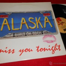 Discos de vinilo: ALASKA MISS YOU TONIGHT/RUN WITH THE PACK/VOICE ON THE RADIO 12 MX 1985 MUSIC FOR NATIONS ENGLAND UK. Lote 47965396