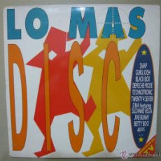 Discos de vinilo: 2 LPS LO MAS DISCO CARPETA DOBLE - BMG ARIOLA 1990 DEPECHE MODE. Lote 47967603