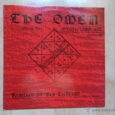 Discos de vinilo: THE OMEN - MISTERIOUS ART 1989 DANCE POOL. Lote 47974350