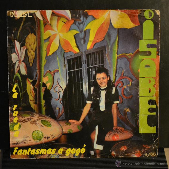 ISABEL. LA RUEDA / FANTASMAS A GOGÓ. IV FESTIVAL DE LA CANCION INFANTIL. 1970. LITERACOMIC. (Música - Discos - Singles Vinilo - Otros Festivales de la Canción)