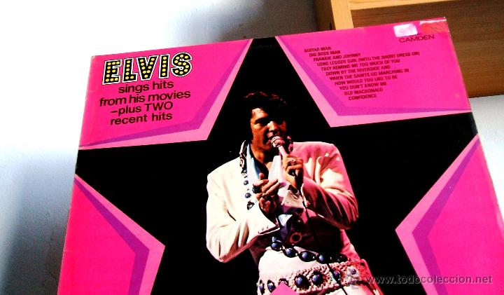 Discos de vinilo: ELVIS PRESLEY : Elvis sings hits from his movies plus two recent hits (VG+/EX), RCA CAMDEN CDS 1110 - Foto 2 - 113781087