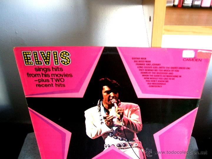 Discos de vinilo: ELVIS PRESLEY : Elvis sings hits from his movies plus two recent hits (VG+/EX), RCA CAMDEN CDS 1110 - Foto 4 - 113781087