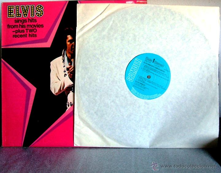 Discos de vinilo: ELVIS PRESLEY : Elvis sings hits from his movies plus two recent hits (VG+/EX), RCA CAMDEN CDS 1110 - Foto 5 - 113781087
