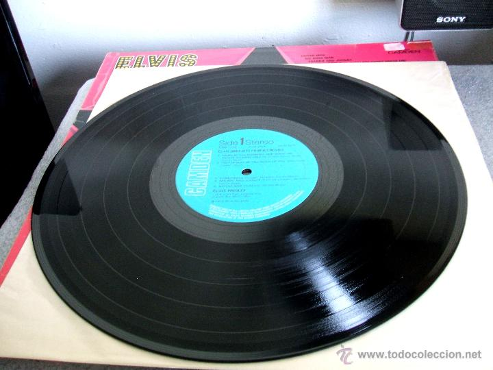 Discos de vinilo: ELVIS PRESLEY : Elvis sings hits from his movies plus two recent hits (VG+/EX), RCA CAMDEN CDS 1110 - Foto 9 - 113781087