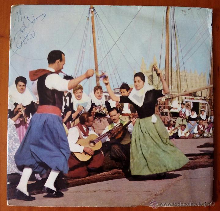 AGRUPACION FESTIVAL LA LONJA MALLORCA, BOLERO MALLORQUI (DISCOPHON 1963) SINGLE EP BERNARDO JULIA (Música - Discos de Vinilo - EPs - Country y Folk)