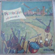 Discos de vinilo: LP ARGENTINO DE PÍCCOLO, SAXO Y COMPAÑÍA. Lote 46745535
