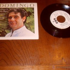 Discos de vinilo: PLACIDO DOMINGO SINGLE ALWAYS IN MY HEART MADE IN SPAIN 1984. Lote 47981850