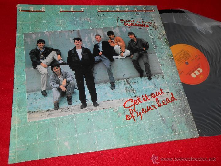 THE ART COMPANY GET IT OUT OF YOUR HEAD LP 1984 CBS PROMO ESPAÑA SPAIN VINILO NUEVO (Música - Discos - LP Vinilo - Pop - Rock - New Wave Internacional de los 80)