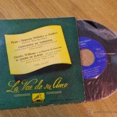 Discos de vinilo: CONCIERTO DE VARSOVIA. PIANO Y ORQUESTA SINFONICA DE LONDRES. EL SUEÑO DE OLWEN.CHARLES WILLIAMS.. Lote 47989450