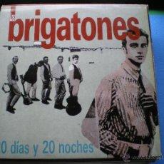 Discos de vinilo: LOS BRIGATONES 20 DIAS Y 20 NOCHES LP 1989 CON ENCARTES PDELUXE. Lote 47994661