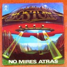 Discos de vinilo: SINGLE VINILO BOSTON DONT LOOK BACK INCREIBLE. Lote 47995191